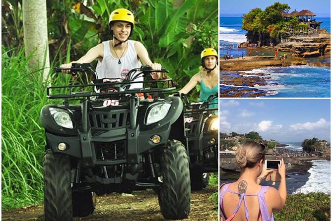 Tour Activities Combination: ATV Ride Experience and Tanah Lot Temple Tour