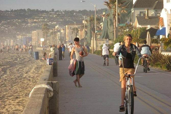 Boardwalk in Pacific Beach