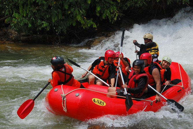 Whitewater Rafting Adventure at Ulu Slim (From KL)