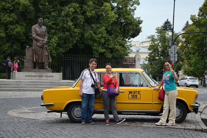 Excursão particular: excursão na cidade de Varsóvia pela Fiat retrô