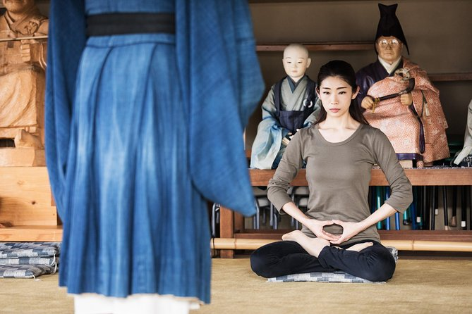 Zen Meditation&Traditional Vegan Food