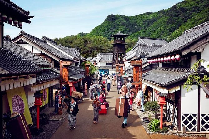 Best of Edo Japan: Nikko National Park and Edo Wonderland Day Trip from Tokyo