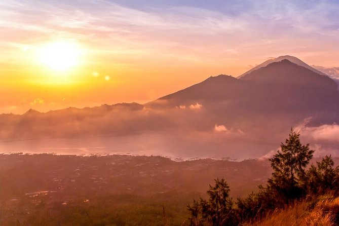 Mount Batur Golden sunrise Trekking