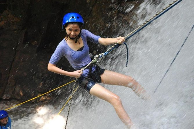 Waterfall Abseiling Adventure at Gopeng (from KL)