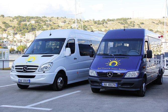 Transfers Saranda(Ksamil)- Tirana -Saranda(Ksamil)