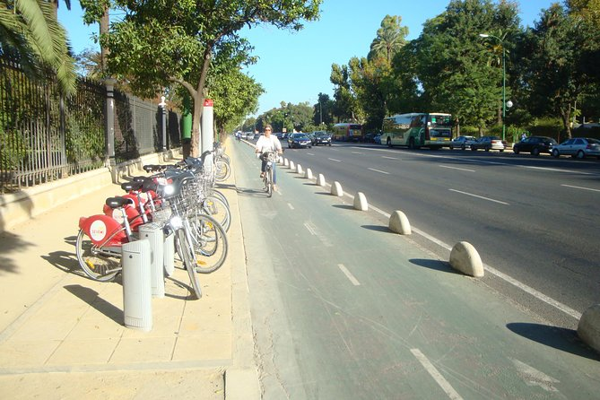 Bike Tour Through Seville's Parks + Picnic with Local Products