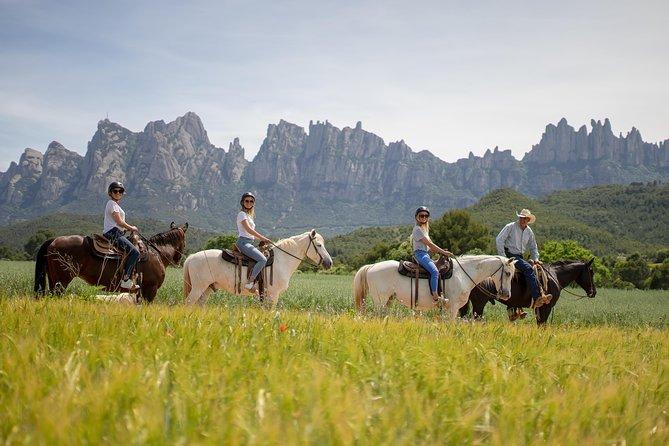 Montserrat Monastery & Horse Riding Experience from Barcelona