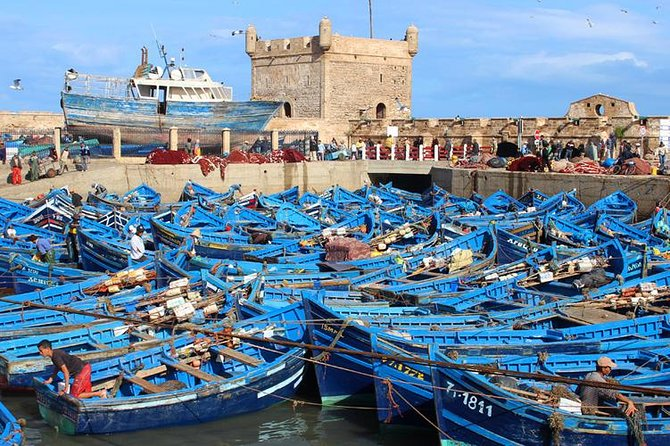 From Marrakech: Day trip to Essaouira Mogador