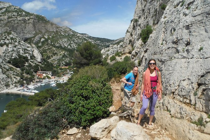 Full day of rock climbing in the Calanques national park