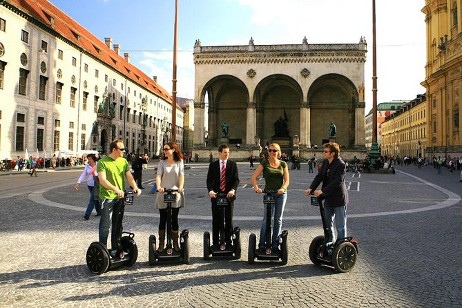Segway tour through Munich (3 h)