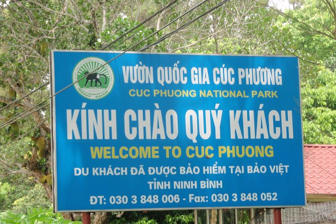 From Hanoi: Ninh Binh & Cuc Phuong National Park 2-Day PRIVATE Tour