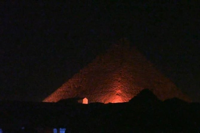 Private Night Tour in the Pyramids Of Giza + Traditional Felucca Sailboat photo 6