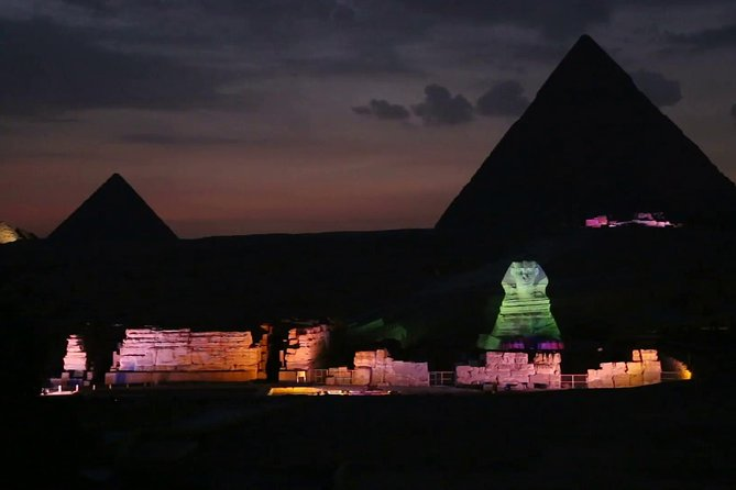 Private Night Tour in the Pyramids Of Giza + Traditional Felucca Sailboat photo 2