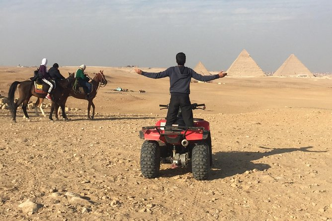ATV Quad Bike Tour at Pyramids of Giza photo 6