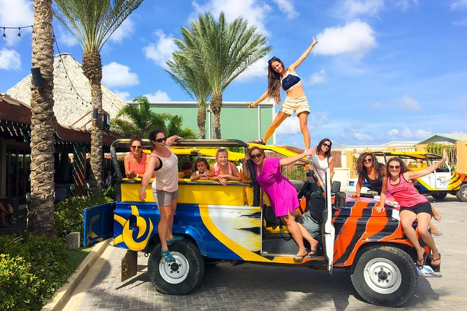 North Coast Jeep Safari in Aruba