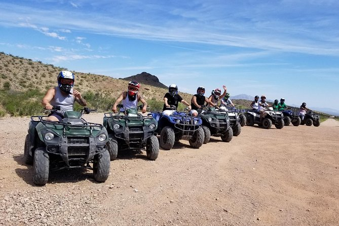 Half-Day Mojave Desert ATV Tour from Las Vegas with Lunch photo 6