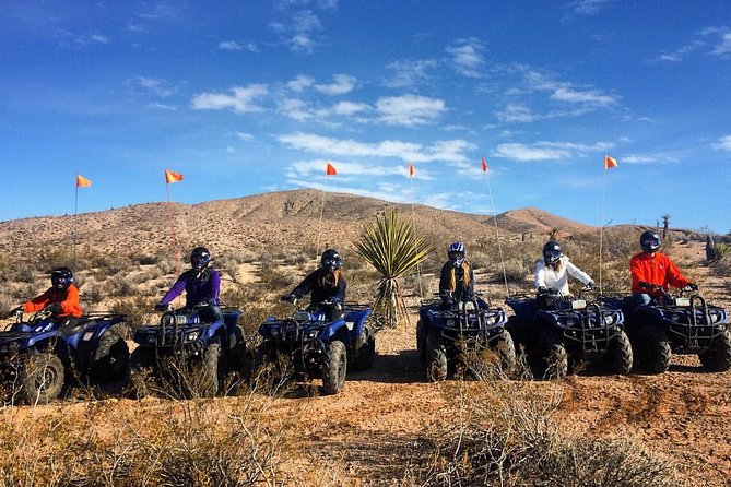 Half-Day Mojave Desert ATV Tour from Las Vegas with Lunch photo 3