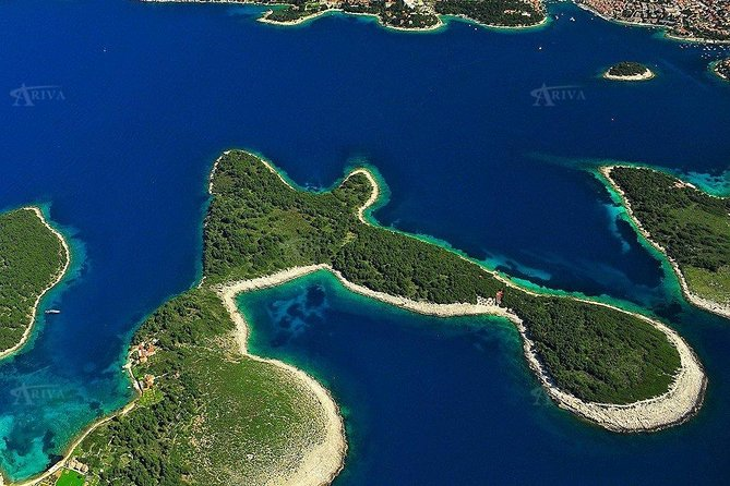 Sailing the Pakleni islands Hvar, half day private tour