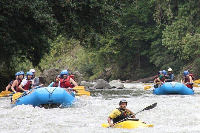 White Water Rafting Reventazon River From San José