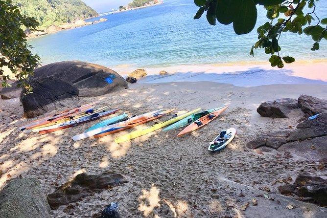 Passeio de Caiaque para a Praia do Sangava e Cheira Limão