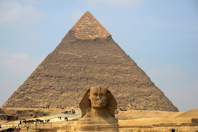 Sightseeing Day Tour to Pyramids, Egyptian Museum and Bazaar from Giza or Cairo photo 20