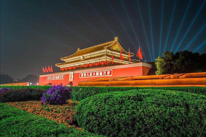 4 hours Private Layover Night Tour in Beijing City By English Driver