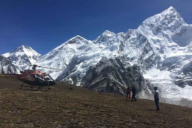 Everest Base Camp Helicopter tour with landing flight sharing from Kathmandu