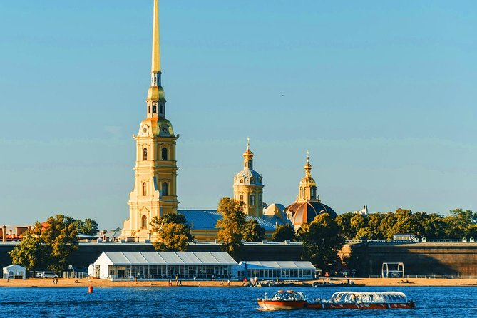 St Petersburg Sightseeing Tour with Peter & Paul Fortress
