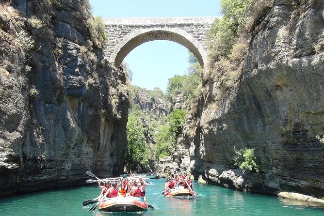 Rafting Adventure at Koprucay Canyon from Side