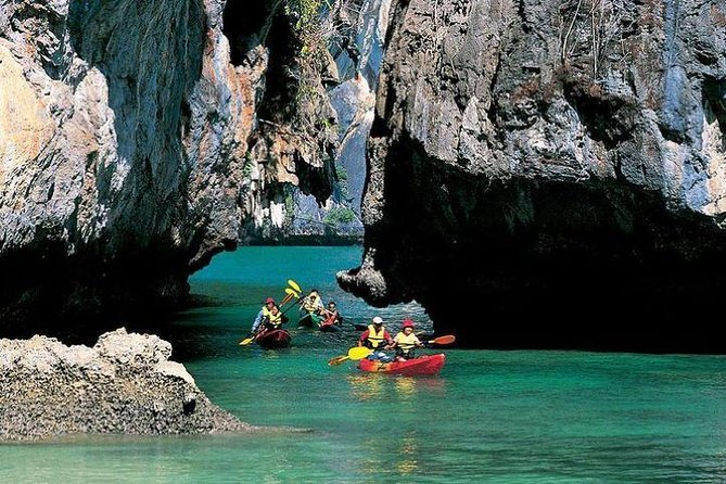 KRABI: Join Tour Bor Thor Kayaking Full Day - Swimming with Lunch