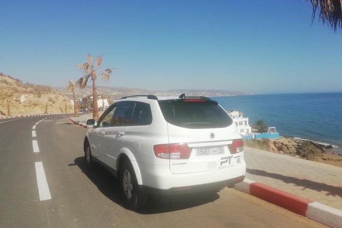 Agadir private transfer from Agadir airport (AGA) to Essaouira one-way