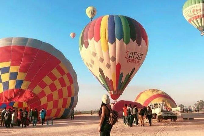 Hot Air Balloons Ride Luxor, Egypt