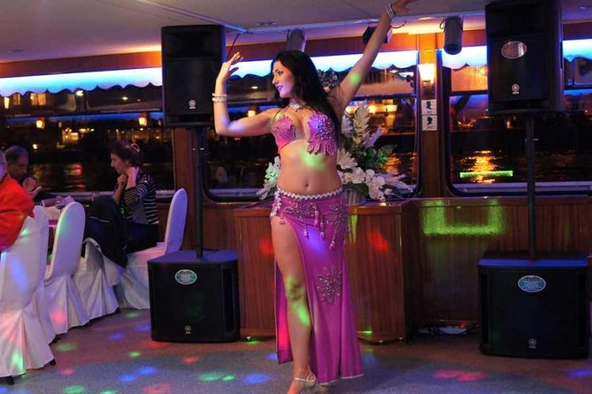 Nile dinner trip in Cairo with belly dancing and hotel transfer
