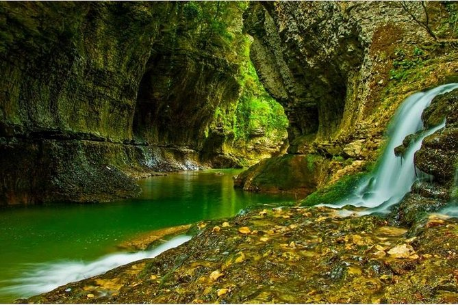 Martvili and Okates canyon tour from kutaisi.
