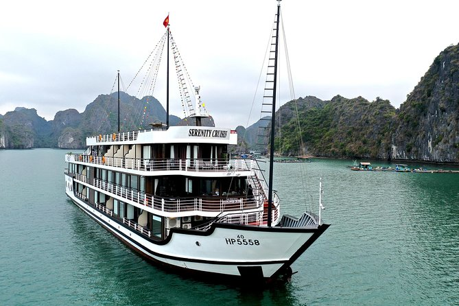 Serenity Cruise -Luxury Cruises in Ha Long & Lan Ha Bay ( 2 Days 1 Night Tour )