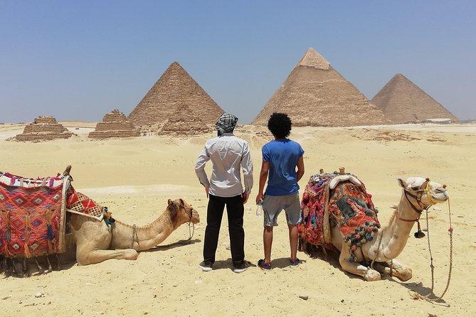 Pyramids & Saqqara & Memphis City & BAZAR 12 hr Around Cairo
