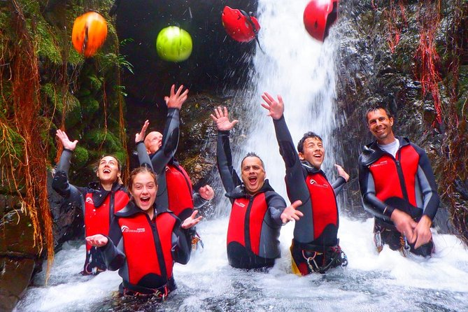 Canyoning level IV Adventure day trip near Guayaquil