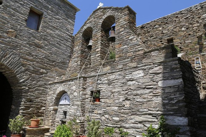Andros monasteries sightseeing tour