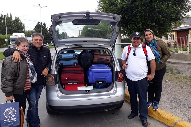Private transfer Airport to Calafate up to 4 low cost passengers