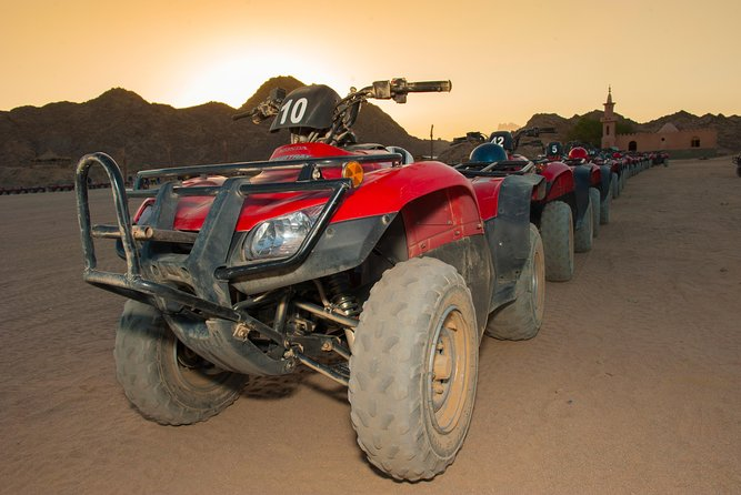 3 Hours Sunset Safari by Quad Bike & Camel Ride - Sharm El Sheikh