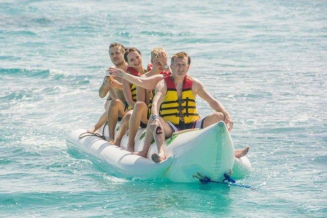 Dolphin House and Banana Boat Fun from Hurghada