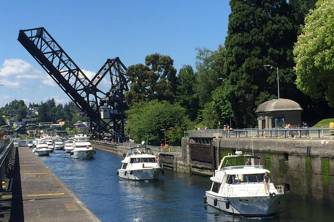 Seattle Ballard Locks, Gas Works Park and Houseboats Tour