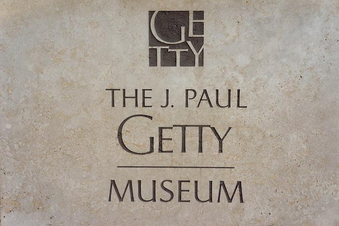 The Getty Center: Private Transfer From Orange County.