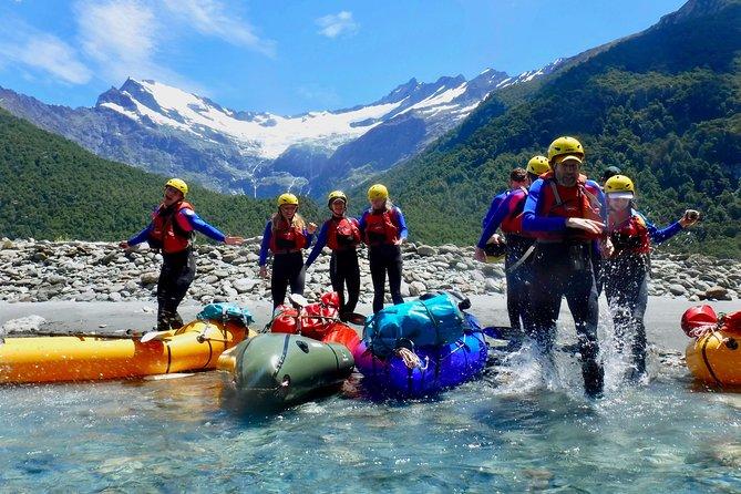 Packraft Wanaka 'Raft' plus Jet Boat & Wilderness Walk Tour from Wanaka