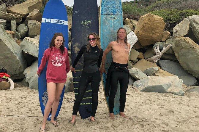 Santa Barbara Surf Lesson with Veteran Surfer