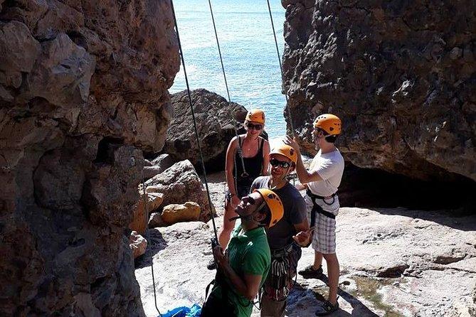 Rock Climbing Lesson in Cascais, Lisbon