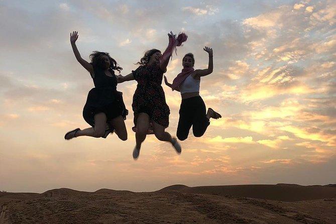 Early Morning Desert Safari With Camel Trekking Experience