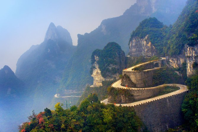Private Day Trip of Tianmen Mountain With Tianmen Fox Fairy Show VIP Seat