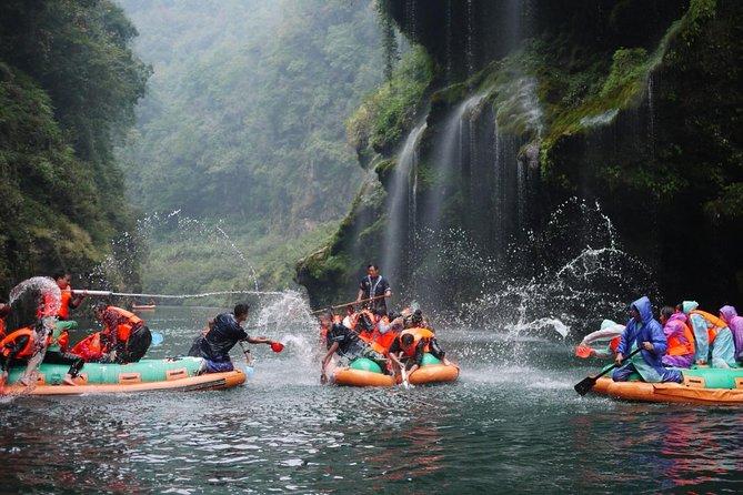 Private Day Trip of Mengdong River Rafting in Zhangjiajie
