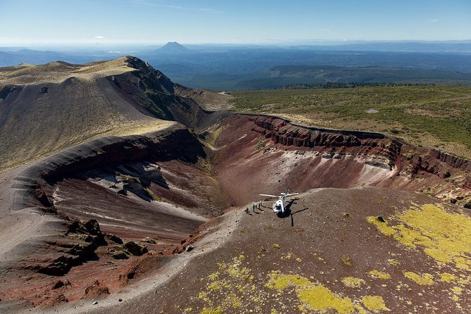 Mt Tarawera Fly-Drive Volcanic Experience
